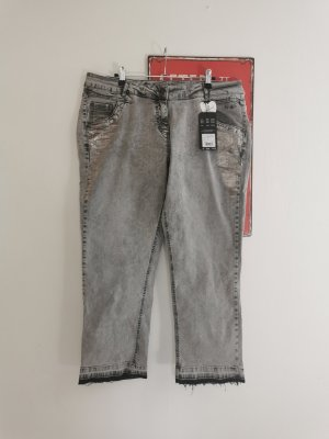 Mega coole Kenny S.  Jeans Adele Summer grau silber Print  NEU