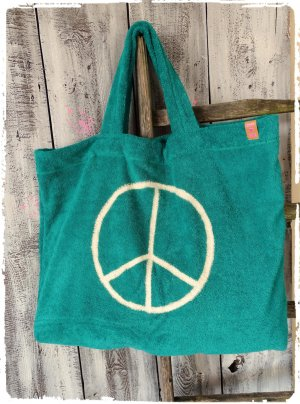 Mega Frottee Beach Bag aus Ibiza Peace