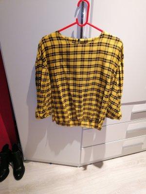 Zara Basic Tie-neck Blouse multicolored