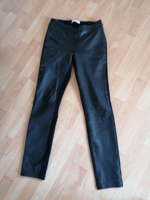 mega geniale Echt Leder Leggings Lederleggings Lammleder Butterweiches Leder echt Leder Blogger Style Mega