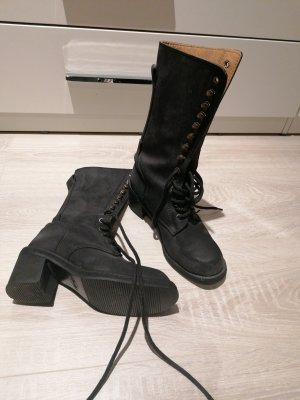 Hotic Lace-up Boots black