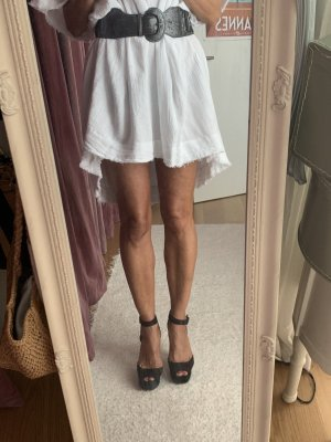 Zara Basic Hoge hakken sandalen zwart