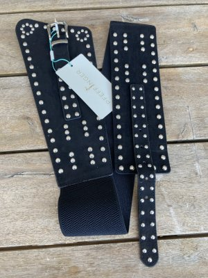 Pfeffinger Hip Belt black-silver-colored