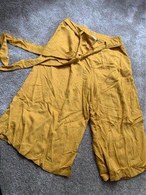 lcw casual Spodnie Capri złotopomarańczowy