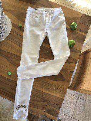 True Religion 7/8-jeans wit Katoen