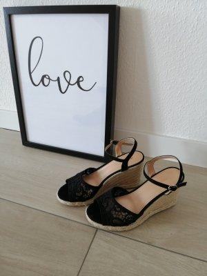 Mega Keilabsatz Sandalen