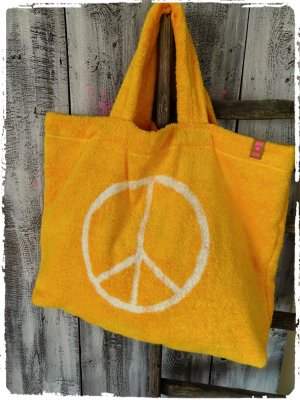 Mega Peace Frotte Tasche Beach Bag aus Ibiza Peace