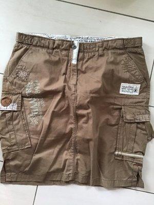 Gaastra Jupe cargo gris brun