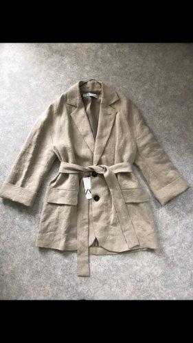 ♥️ Mega schöne Zara Oversize Jacke Mantel mit Gürtel