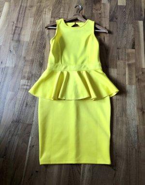 Mega Schößchen Kleid von Rare London