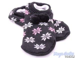 Botas de fieltro negro