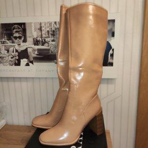 mega Stiefel beige 39 neu HEUTE 25€