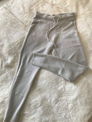 Opus Pantalón de lana gris claro Acrílico