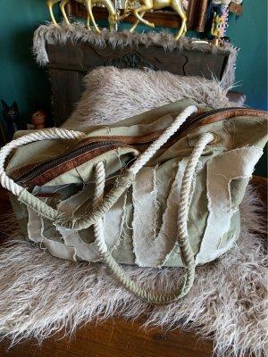 Mega tolle Tasche von Loberon Leinen + Leder !!!