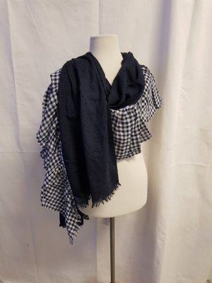 Esprit Shoulder Scarf dark blue
