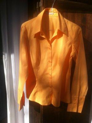 megachice #orange #Business-Bluse, strech, 40-42, wie neu