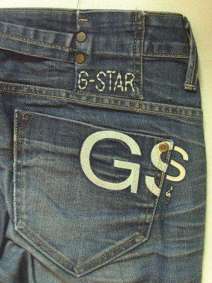 """Megacoole, seltene Vintage Hüft-JEANS von G-STAR """"Midge straight""""..washed/used/leichter Stretchanteil..Größe W30/L32, DE 38/40"""