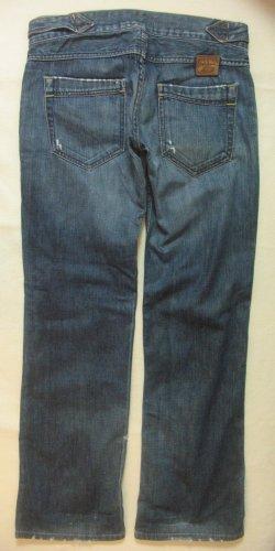 Megacoole, seltene Vintage Hüft-JEANS von PEPE JEANS..baggy/loose fit..used/destroyed..Größe W29/L32, DE 36/38