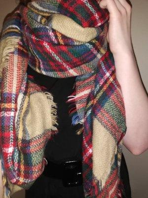 Bijou Brigitte Woolen Scarf multicolored