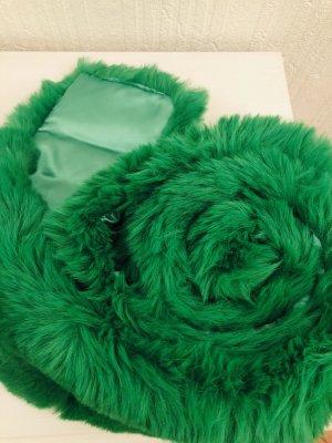 Écharpe ronde vert