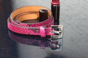 Furla Cinturón de cuero púrpura Cuero