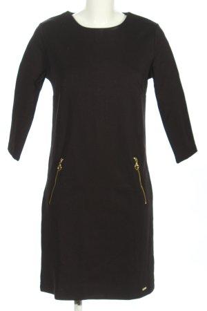 Megi Collection Jerseykleid schwarz Casual-Look