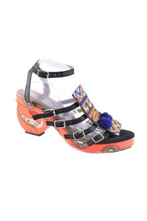 meher kakalia Riemchen-Sandaletten Motivdruck Casual-Look
