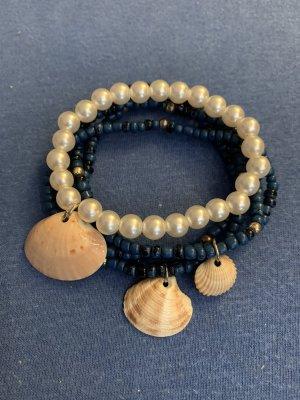 Handmade Bracciale di perle multicolore