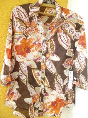 Betty Barclay Blusa a tunica multicolore Cotone