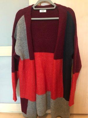 Jacqueline de Yong Cardigan a maglia grossa multicolore