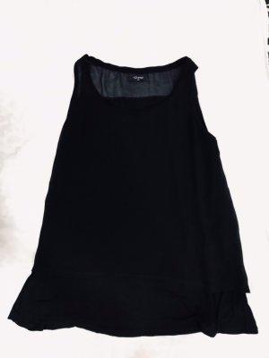 Gina Top met spaghettibandjes zwart