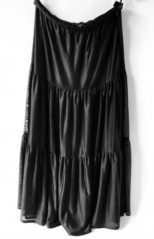 Broomstick Skirt black polyester