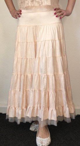 Broomstick Skirt pink mixture fibre