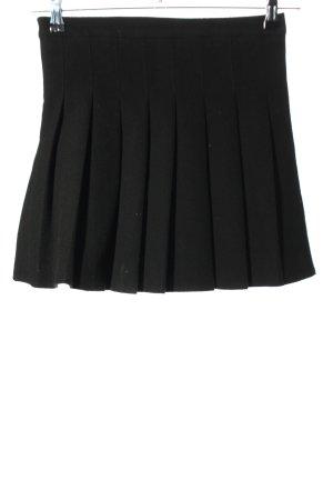 Mei Han Hui Yi Jiao Plaid Skirt black casual look