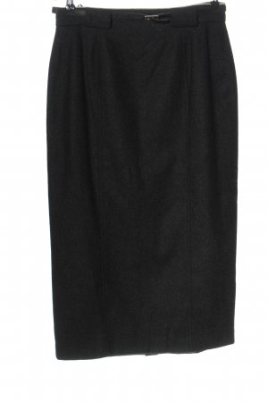 Meico Pencil Skirt black flecked casual look