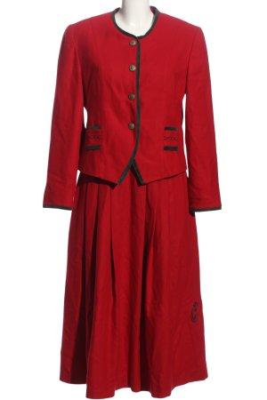 Meico Kostüm rot Business-Look