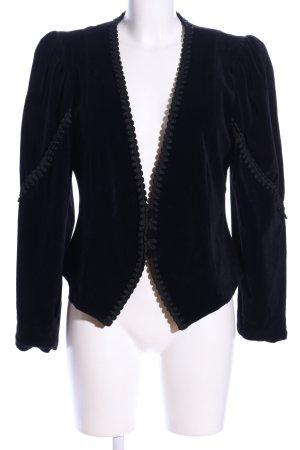 Meico Kurzjacke schwarz Elegant