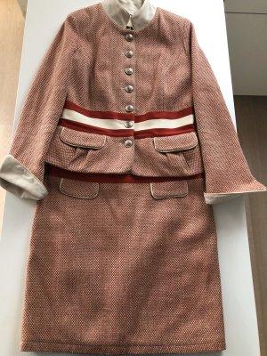 Meier.Meier Tailleur rosso mattone