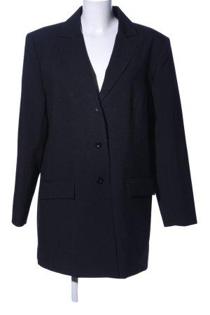 Jerseyblazer schwarz Business-Look