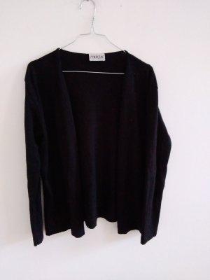 Real Vintage Cardigan in maglia nero