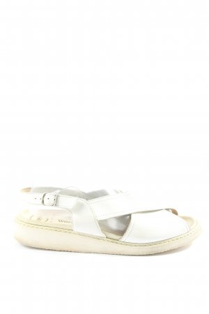 meisi Comfort Sandals white casual look