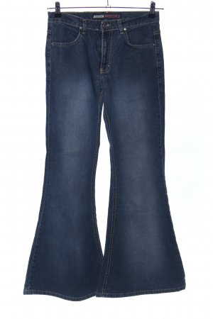 Boot Cut Jeans blau Casual-Look