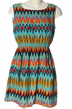 Mela London Minikleid grafisches Muster Casual-Look