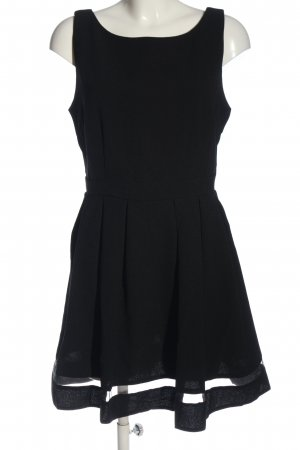 Mela London Minikleid schwarz Casual-Look