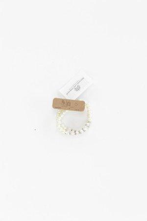 Bracelet blanc cassé