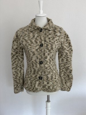 Coarse Knitted Jacket multicolored wool