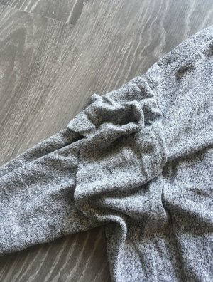 H&M Gehaakte trui grijs-lichtgrijs
