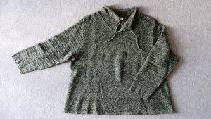 Pull en laine multicolore tissu mixte