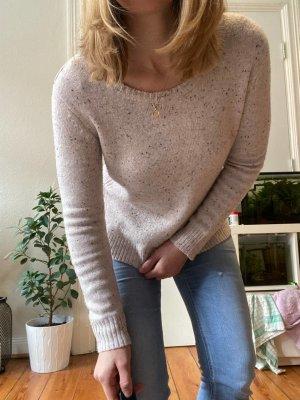 Melierter Pullover von Tally Weijl Gr.M Rosa Weich