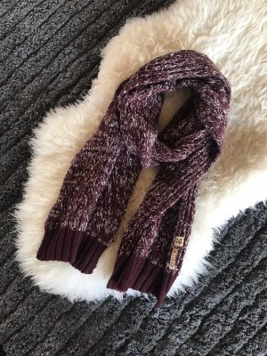 Review Knitted Scarf multicolored